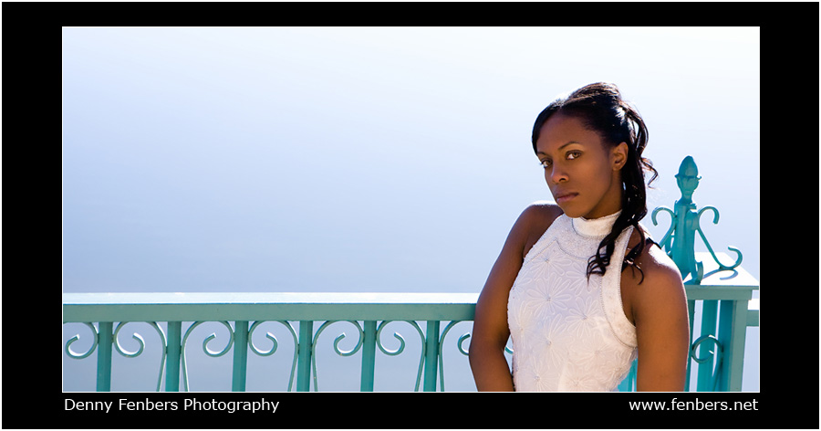 portrait of denee - city park - water