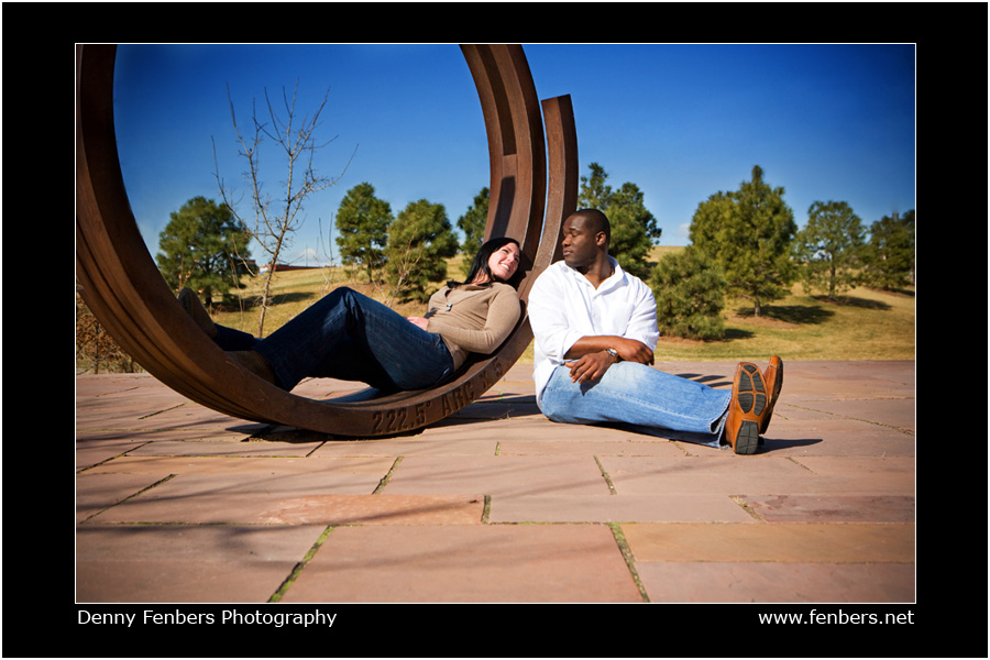 Engagement Photo - Denver Art