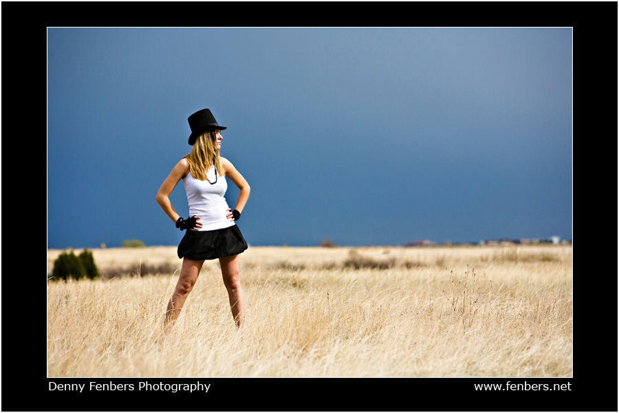 Portrait in the field