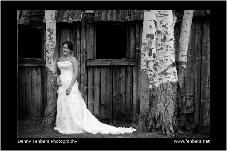 Tricia - Bridal Portrait Beaver Creek Golf Course