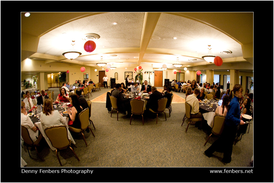 Reception at Columbine Country Club