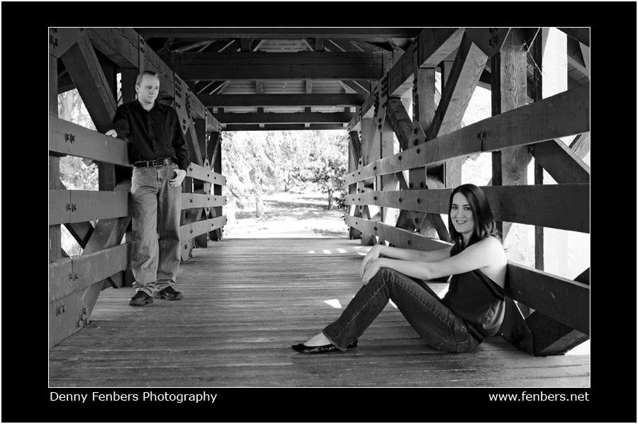Portraits on Bridge at Belmar Park