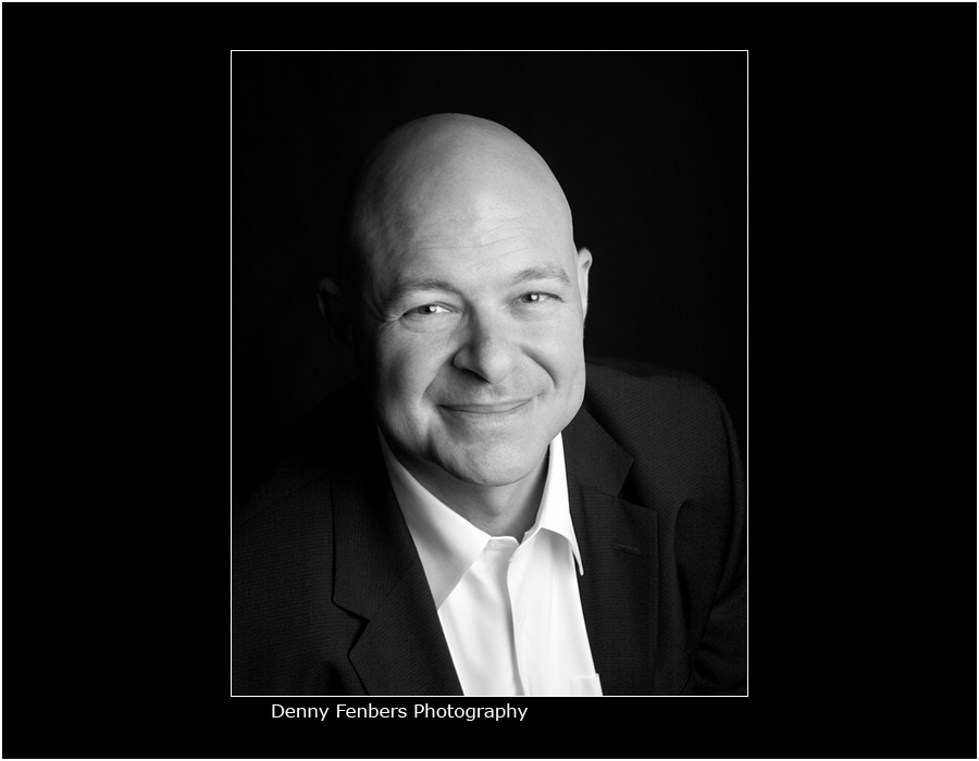 Attorney Headshot in Black and White