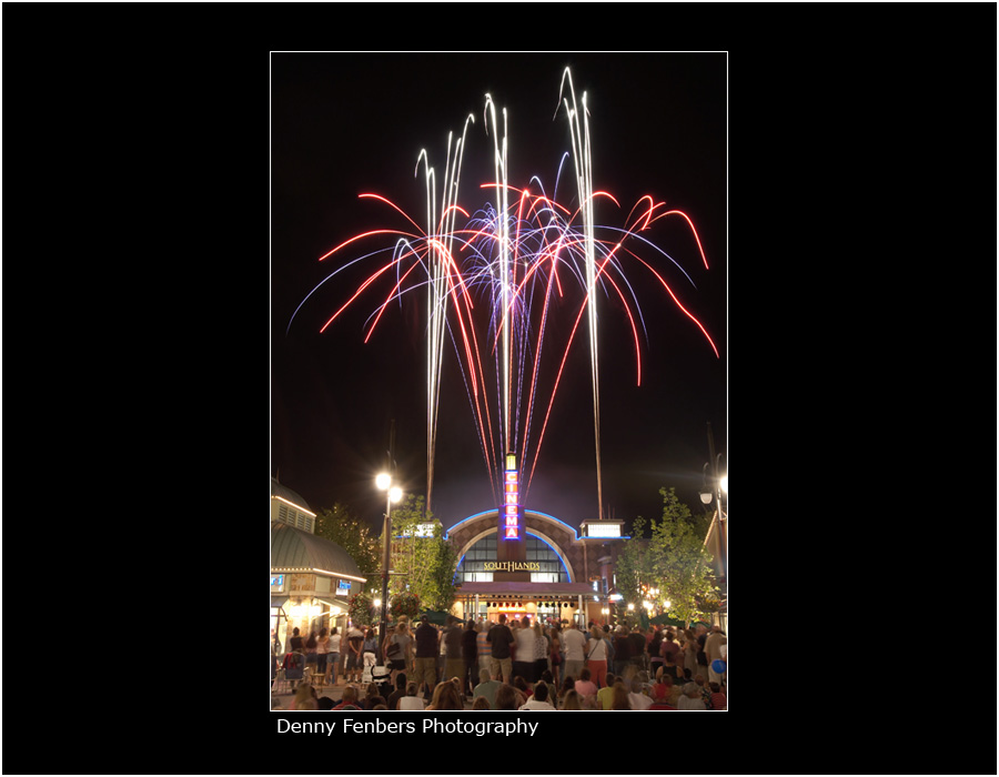 Fireworks in Colorado