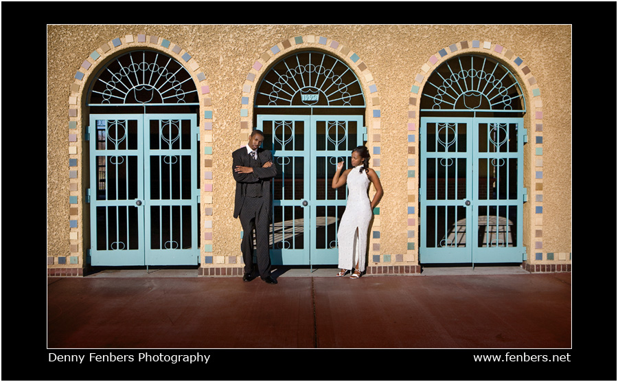 Casual wedding portraits at City Park in Denver