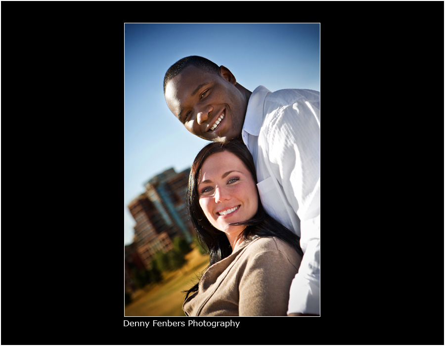 Engagement at Commons Park, Denver
