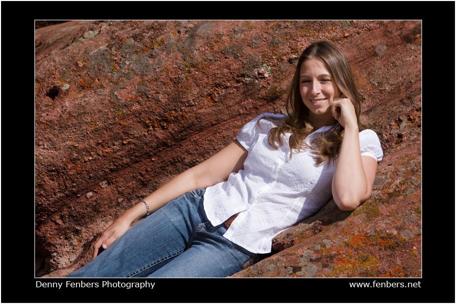 Samantha on the Rocks