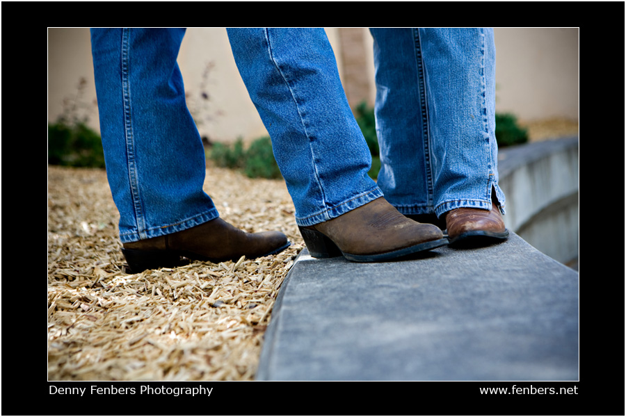 Jeans and Boots - Engagement Attire
