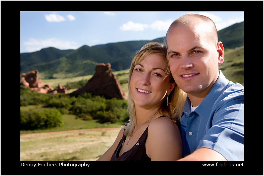 Engagement Portrait Near Deer Creek Canyon
