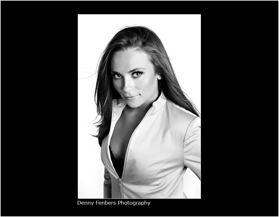 Miss Colorado USA - Nicolle Black and White
